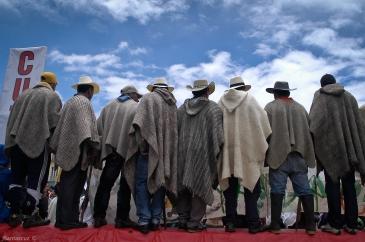 Paro Agrario: Fotografía Juan Santacruz